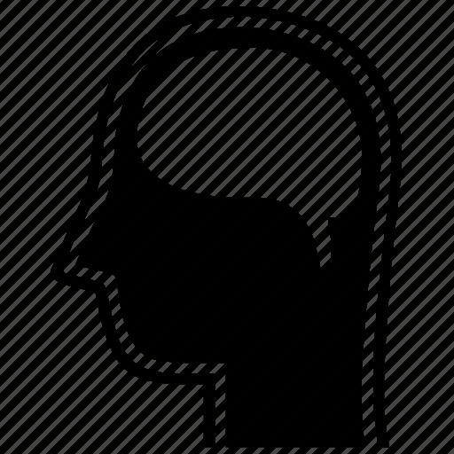 brain, brainstorm, head, idea, mind, psychology, think icon