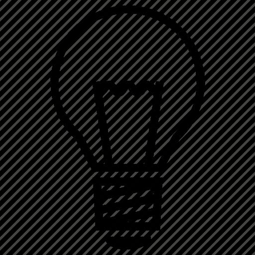 bulb, creative, electricity, energy, idea, lighbulb, light icon