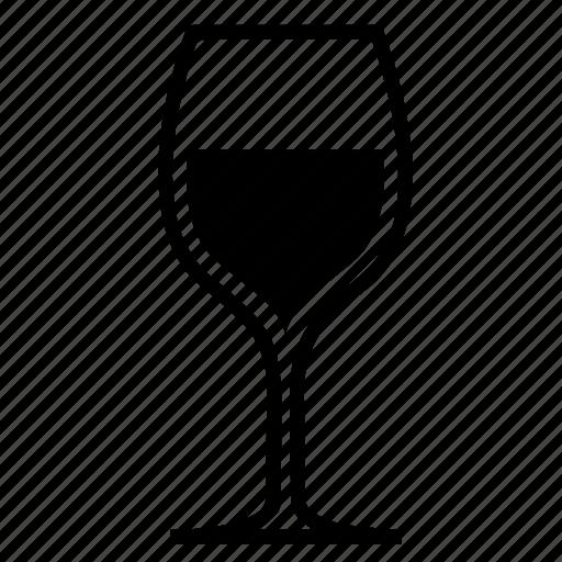 glass, wine icon
