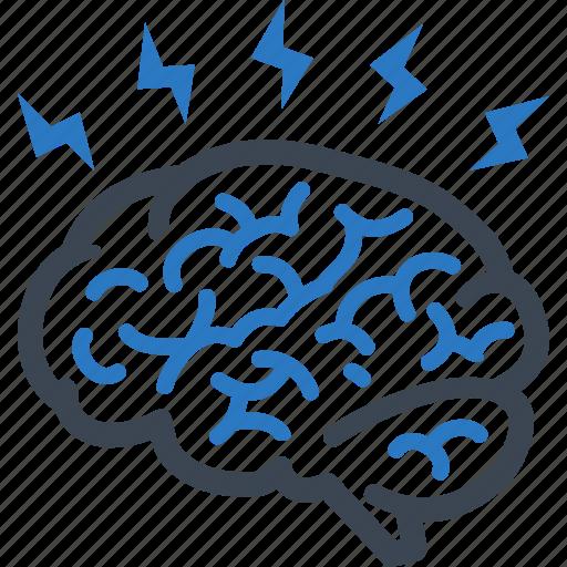 brain, brainstorming, education, ideas icon