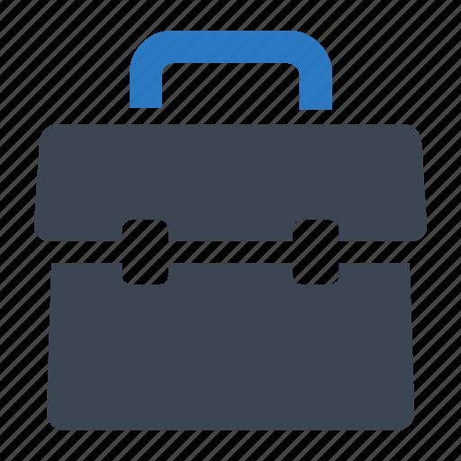 briefcase, portfolio, school bag icon