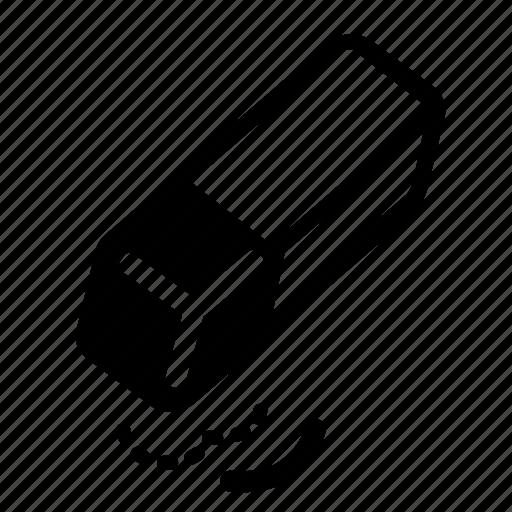 bold, clear, delete, erase, eraser, formatting, sold icon
