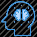 brain, education, inovation, learning, school, student, study icon