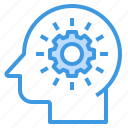 brain, education, learning, process, school, student, study icon