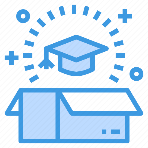 box, education, knowledge, learning, school, student, study icon