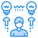 education, idea, learning, school, share, student, study icon