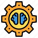 brain, education, learning, school, student, study icon