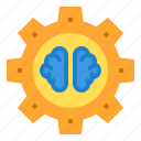 brain, education, learning, school, student, study icon