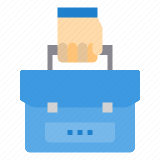 briefcase, education, learning, school, student, study icon