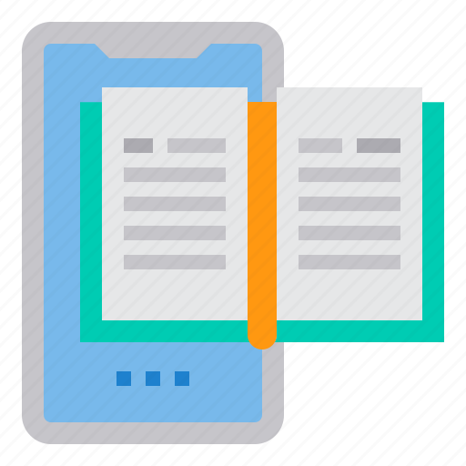 ebook, education, learning, school, student, study icon