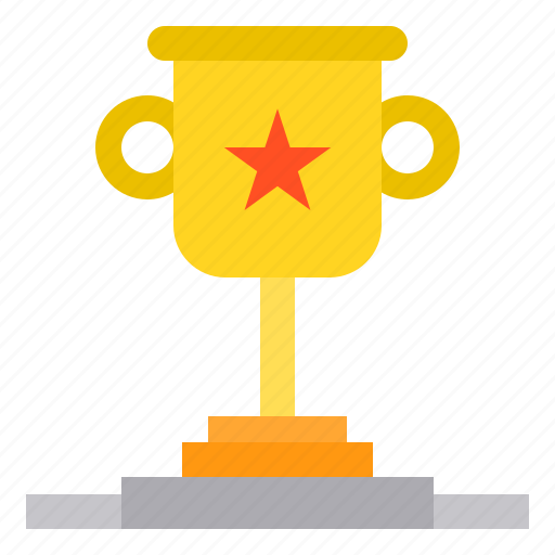 education, learning, school, student, study, trophy icon