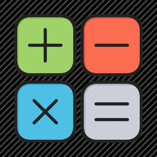 calc, calculate, mathematics, maths icon