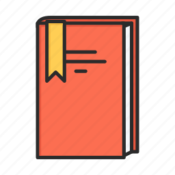 book, bookmark, favorite, learning icon