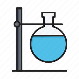beaker, experiment, flask, laboratory, science, test icon