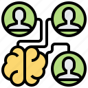 brainstorm, communication, discuss, strategy, teamwork