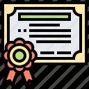award, certificate, diploma, education, graduation