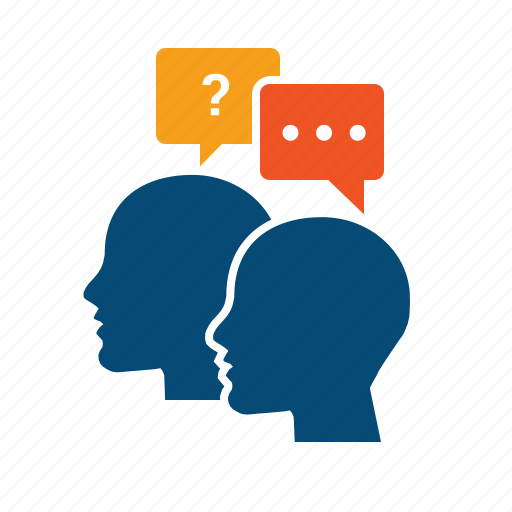 ask, collaborate, collaboration, concierge, consultation, consulting, customer, debate, dialog, discuss, discussion, help, interview, practice, skype, talk, tutoring icon