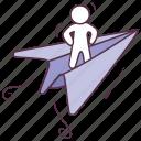 feedback, message, paper plane, send information, send mail icon