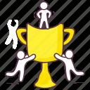 award trophy, champion trophy, trophy, winner trophy, winning cup icon