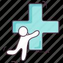 add, addition, calculation, mathematical operation, positive icon