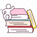 archives, books, library, novels, reading books, success books icon