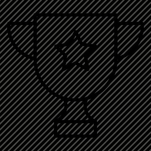award, cup, medal, prize, reward, trophy, winner icon