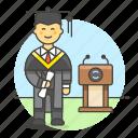 achievement, college, degree, diploma, education, graduate, graduation, male, student, university