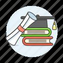 certification, diploma, achievement, graduation, study, education, completion