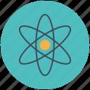 atom, education, school, science icon