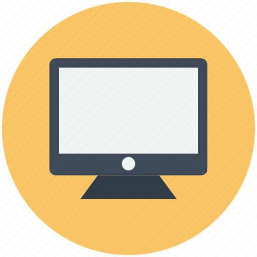 computer, display, monitor, screen icon icon