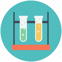flask, science, test, tube icon icon