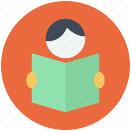 education, knowledge, reading, study icon icon