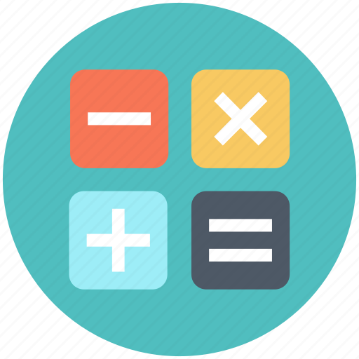 calculate, calculator, education icon icon