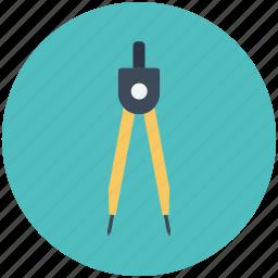 architect tool, drawing tool, geometric, parkar, preferences, tool, tools icon icon
