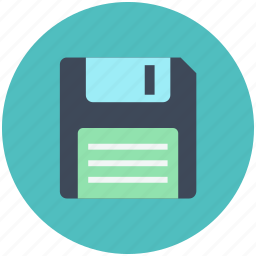disk, floppy, guardar, save, storage icon icon