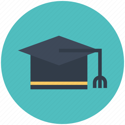 academia, cap, college, education, graduation, learning, school icon icon
