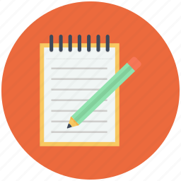 felt-tip pen, important note, note, notes, text icon icon
