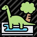 archaeologist, dinosaur, handicraft, paleontology, prehistoric icon