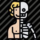 anatomy, body, human, physiology, skeleton icon