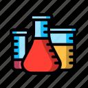 chemistry, flask, laboratory, tube