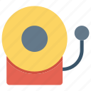 alarm, attention, bell, danger, fire, problem icon icon