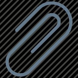 attach, attachment, link, paperclip icon icon