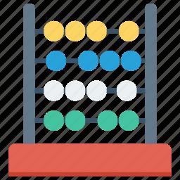 abacus, calculate, math, mathematics icon icon