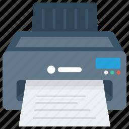 device, electronic, fax, print, printer icon icon