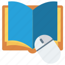 bible, book, handbook, manual icon, mouse icon