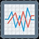 analytics, charts, diagram, graph, marketing icon icon