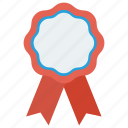 award, badge, quality icon