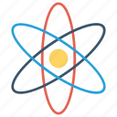 atom, education, school, science icon icon