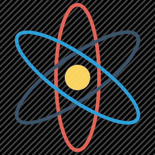 atom, education, school, science icon icon