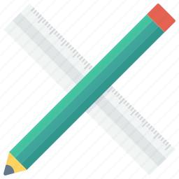 and, edit, pen, pencil, ruler, tool, write icon icon